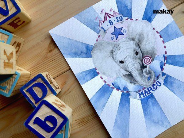Natalicio Elefante de circo